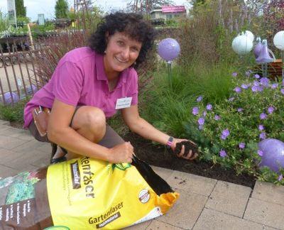 Katharina Huber: Geheimtipp Gartenfaser